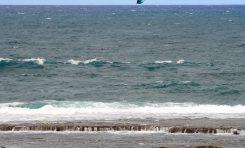 Buen viento para el kite surf
