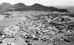 El istmo y Guanarteme en 1931