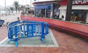 El cuartelillo de la policía turística cerrado desde el 2015 presenta un estado lamentable