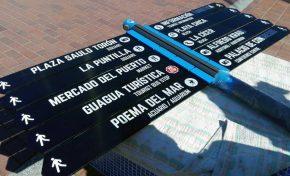 Turismo actualiza la señalética de Las Canteras