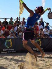 Las Canteras recibe esta semana a los mejores jugadores del mundo de tenis playa