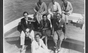 """Taken on board """"Sensat"""" 1929"""