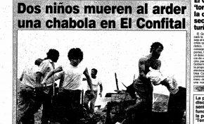 19 de marzo de 1990. Un Día del Padre marcado por la tragedia en El Confital