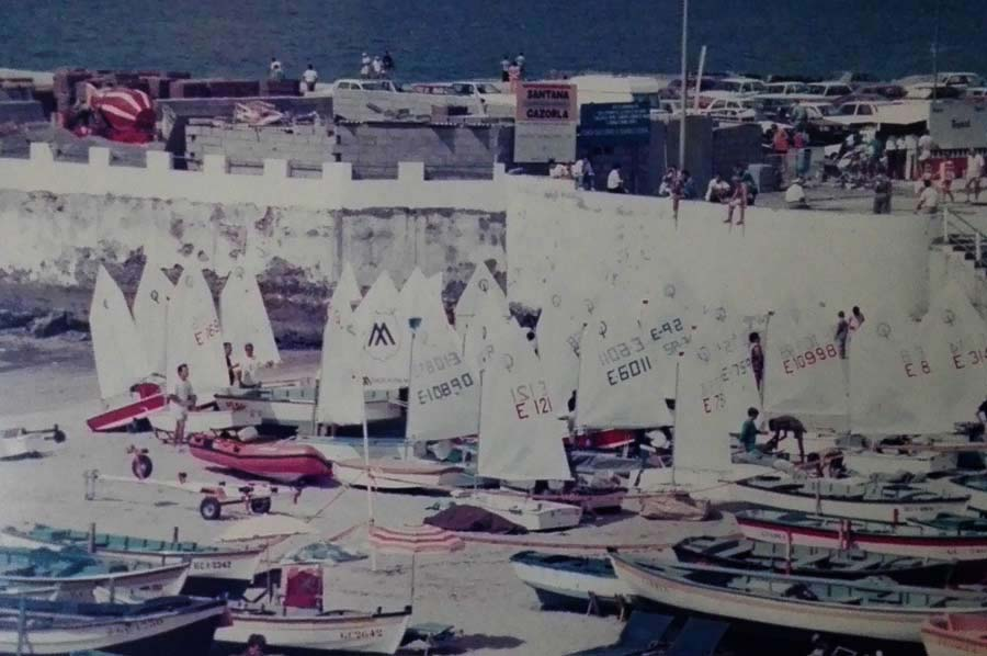 Actividad náutica en La Puntilla