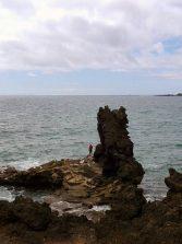 Pescando en el Roque Morán