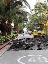 Comienzan las obras para peatonalizar la calle Luis Morote