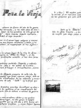 Carta de la Peña la Vieja