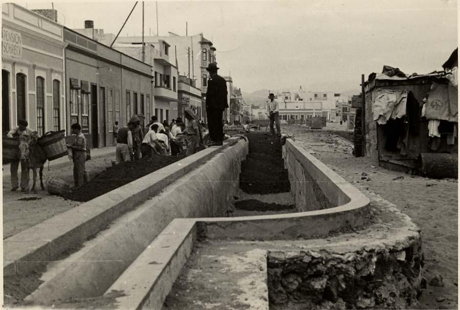 Imágenes para el recuerdo: construyendo el paseo de Las Canteras