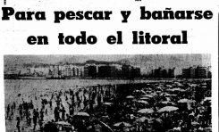 """Cuando la """"mancha"""" apareció en la playa de Las Canteras ( 2ª parte)"""