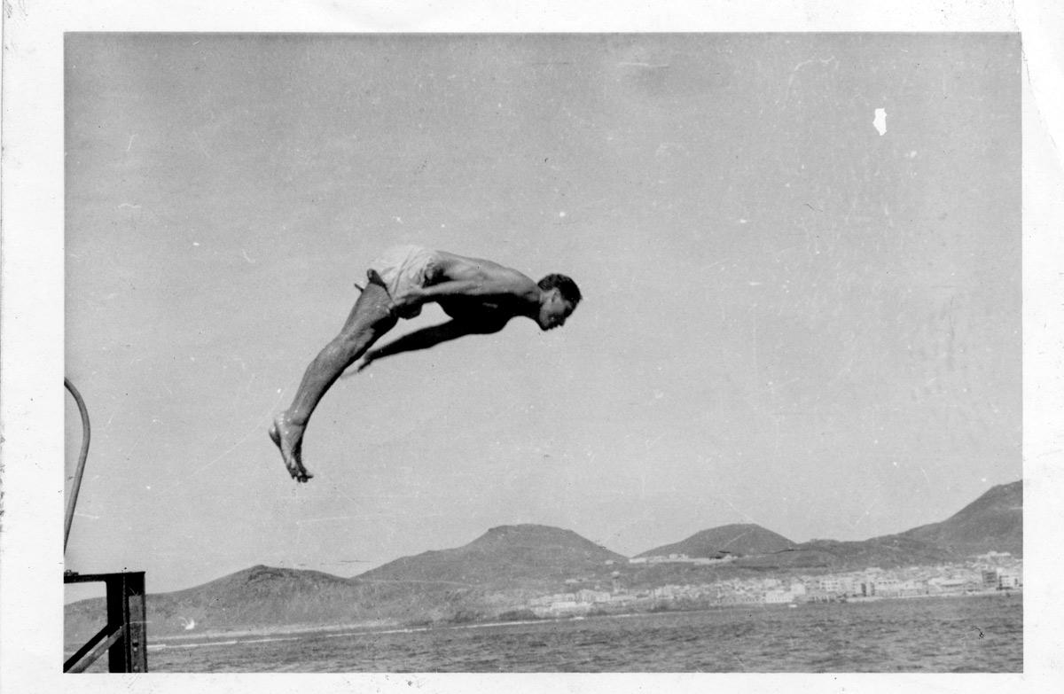 Ser player@, de la Playa de Las Canteras. Vicente García: » Mis recuerdos»