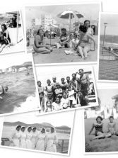 """Ser player@, de la Playa de Las Canteras. Elena Guitián : """" Cogimos la guagua y nos fuimos a Las Canteras.  Me emociona recordar nuestra impresión al ver aquella maravilla, en un día perfecto, de sol y alisios """""""