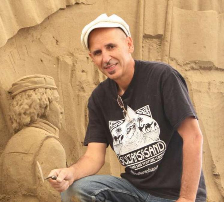 """Etual Ojeda   """"Pionero del arenismo en el mundo"""""""