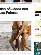 Un importante periódico sueco se hace eco de nuestra noticia sobre los nudistas