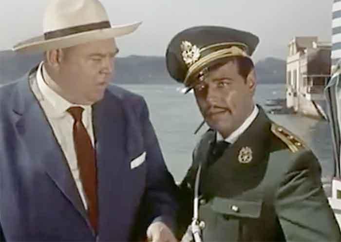 Documento visual del año 1959. La Puntilla en la película alemana «Peter Voss»