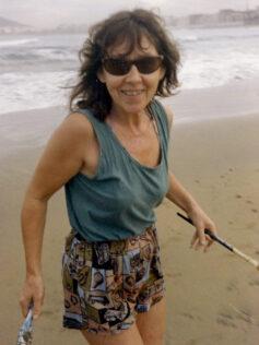 """Hildegard Hahn: """"El mar me hace sentir que el tiempo pasa"""""""
