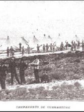1898. Antiguo Campamento militar en Guanarteme