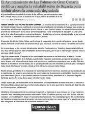 El Ayuntamiento de Las Palmas de Gran Canaria rectifica y amplía la rehabilitación de Sagasta para incluir ahora la zona más degradada. ( Laprovincia.es)