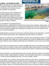 El Ayuntamiento de Las Palmas de Gran Canaria da 10 días a dos de cada tres terrazas de Las Canteras para que regularicen su situación. ( Laprovincia-dlp)