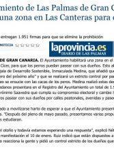 El Ayuntamiento de Las Palmas de Gran Canaria habilitará una zona en Las Canteras para el paseo de los perros ( Laprovincia-dlp)