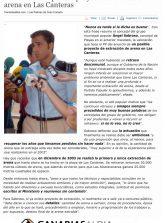 El PP valora el posible proyecto de extracción de arena en Las Canteras (www.canariasaldia.com)