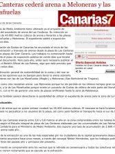 Las Canteras cederá arena a Meloneras y las Marañuelas. ( Canarias7.es)