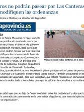 Los perros no podrán pasear por Las Canteras hasta que se modifiquen las ordenanzas. ( www.laprovincia.es)
