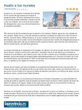 Asalto a los murales ( www.laprovincia.es)