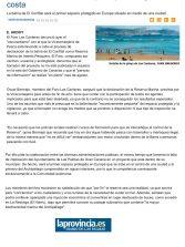 El Foro de Las Canteras pide que se vigile la costa ( www.laprovincia.es).