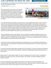 Las Canteras se llena de vida ( www.laprovincia.es).
