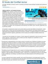 El fondo del Confital revive  ( www.laprovincia.es).