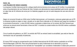 Los antiguos dueños del Confital reclaman 40 millones ( www.laprovincia.es).