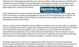 El Ayuntamiento no puede pagar a los dueños del Confital  ( www.laprovincia.es).