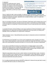 Saavedra ordena a Barrios que limpie las barandillas ( www.laprovincia.es).