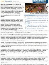 Casi 150.000 personas dan la bienvenida al verano ( www.laprovincia.es).