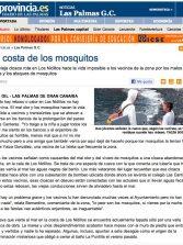 La costa de los mosquitos ( www.laprovincia.es).