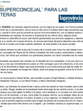 UN ´SUPERCONCEJAL´ PARA LAS CANTERAS ( www.laprovincia.es).