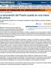 La renovación del Puerto queda en una mano de pintura ( laprovincia.es)