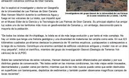 Los dieciséis volcanes de La Isleta ( laprovincia.es).