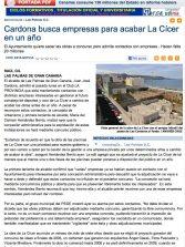 Cardona busca empresas para acabar La Cícer en un año ( laprovincia.es).