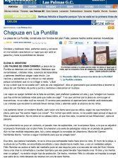 Chapuza en La Puntilla ( laprovincia.es).