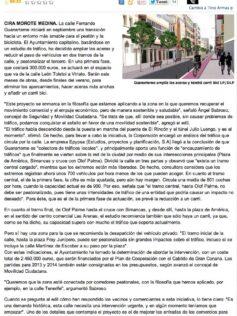 Guanarteme amplía las aceras y tendrá carril bici  ( laprovincia.es).