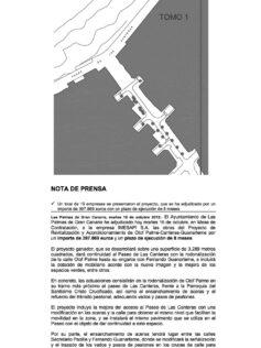Se adjudica el Proyecto de Revitalización de Olof Plame-Canteras-Guanarteme ( Nota de prensa).