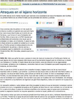 Atraques en el lejano horizonte ( laprovincia.es).