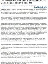 Los pescadores respaldan la protección de Las Canteras para salvar la actividad ( laprovincia.es).