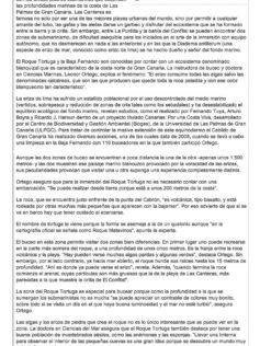 El Confital: territorio de erizos ( laprovincia.es).