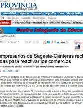 Los empresarios de Sagasta-Canteras reclaman medidas para reactivar los comercios (laprovincia.es).