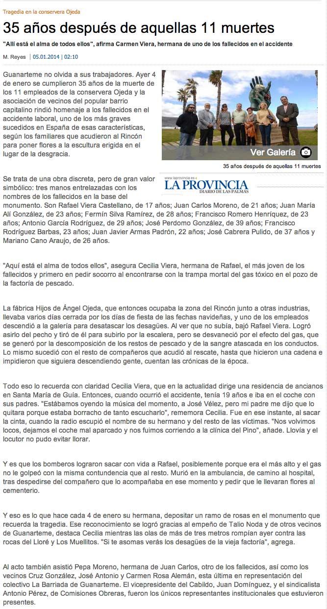 35 años después de aquellas 11 muertes (laprovincia.es).