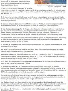 Las Canteras, la playa que dispone de su propio plan de seguridad y emergencias ( laprovincia.es).