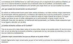 Los búnkeres de El Confital tienen un valor extra por ser defensas antiaéreas ( laprovincia.es)