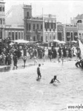 Ambiente en la orilla, años 30